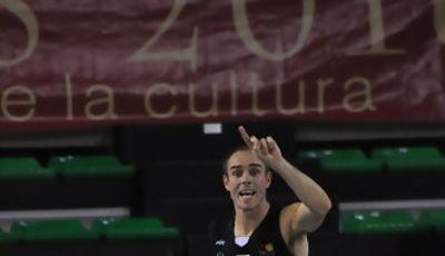 David Mediano mandando jugada (Foto: El Periódico de Extremadura)