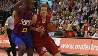 Joe Ingles ha superado a Mickeal en todo momento (Foto: Pepe Marín /ACB Media)