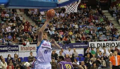 David Doblas dominó la zona (ACB PHOTO / Luís García)