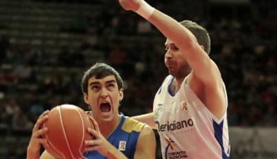 Primera gran actuación del joven Jaime Fernández en ACB (ACB Photo/Emilio Cobos)