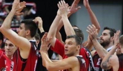 Lietuvos Rytas celebrando la victoria (Foto: Lietuvos Rytas)