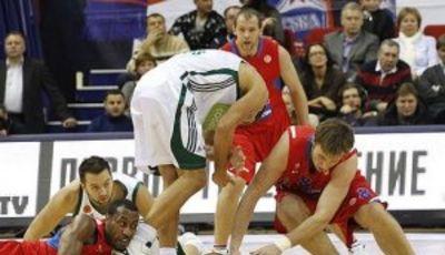 El CSKA, por los suelos (Foto:cskabasket.com)