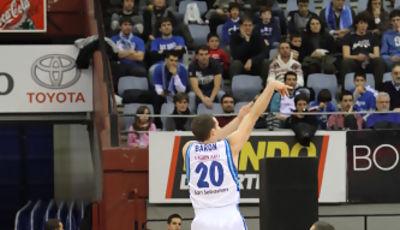 "Jimmy Baron estuvo ""on fire"" (ACB Photo/Luis García)"