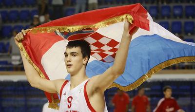 Dario Saric, el gran protagonista del año 2010 (Foto Marko Metlas / Fiba Europe)