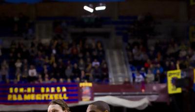Alan Anderson y Coby Karl, de lo mejor del partido (ACB Photo)