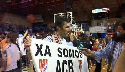 Bulfoni y el Obradoiro ya son de ACB (Foto: Rodrigo García)