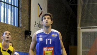 Pablo Sánchez, el alero del River Andorra