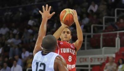 Marouan Kechrid, mejor jugador de la final del Afrobasket (Foto FIBA)