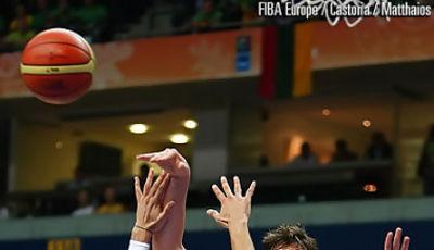 Marc Gasol fue el mejor jugador español (Foto FIBA/Castoria/Matthaios)