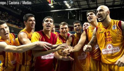 Macedonia sigue sorprendiendo (Foto FIBA Europe/Castoria/Matthaios)