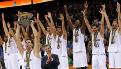 Campeones de Europa (Foto FIBA Europe/Castoria/Kulbis)