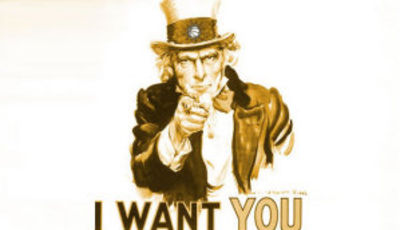 We want you, te esperamos