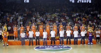 Presentación del Valencia Basket 2001-12 (Foto: M.A. Polo / Valencia Basket)