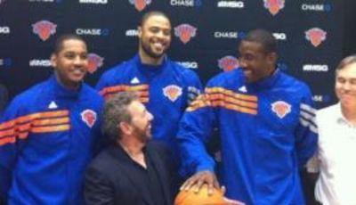 El nuevo <i>big three</i> de los Knicks