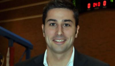Iurgi Caminos Usandizaga, entrenador del Lan Mobel ISB (Foto Chema Gonzalez)