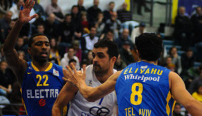 Krunoslav Simon fue vital en la victoria del Zagreb ante el Maccabi (Foto: KK Zagreb)