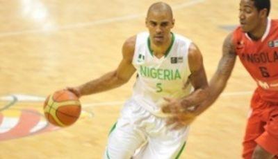 Ime Udoka, con la camiseta de Nigeria (Foto FIBA Africa)