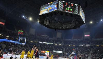 Vista del nuevo Buesa Arena (ACB PHOTO / Lino González)