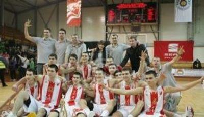 Estrella Roja, campeón del NIJT de Belgrado (Foto KK Crvena Zvezda)