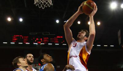 Anota Aldemir, pero su equipo cayó ante Antalya (Foto: Galatasaray)