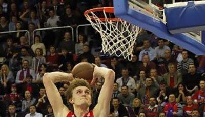 Kirilenko vuela hacia el aro (Foto: CSKA)