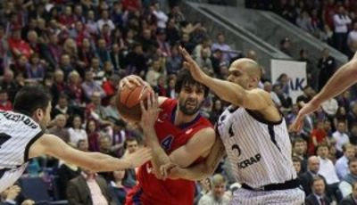 Teodosic rozó el triple-doble (Foto: CSKA)