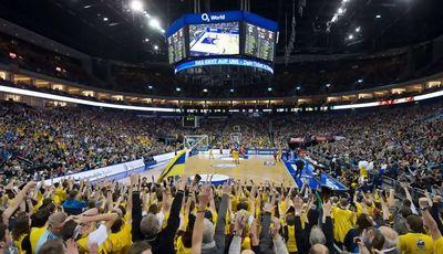 Las canchas germanas presentan un lleno absoluto en sus partidos de playoff (Foto: alba berlin)