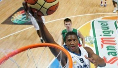 Yakhouba Diawara con la camiseta de la selección francesa (Foto:FIBA)