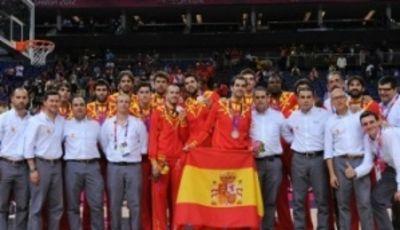 La selección española de plata (Foto FIBA)