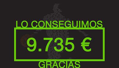 Gracias a todos vosotr@s lo hemos conseguido