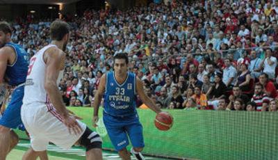Pietro Aradori (Foto FIBA Europe/Ahmet Tokyay)