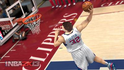 Blake Griffin, protagonista en el NBA 2K13 (Foto: 2K Sports)