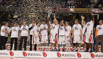 BC Kalev/Cramo Tallinn se corona campeón (foto: fibaeurope.com)