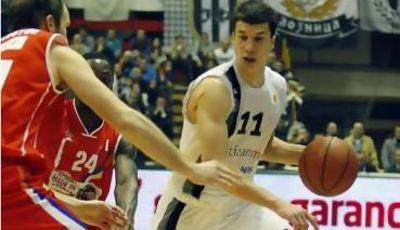 Vladirmir Lucic fue de nuevo el mejor de la jornada (Foto: KK Partizan)