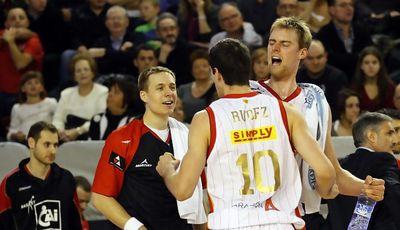Rudez, Roll, Norel fueron letales para su equipo (ACB PHOTO / J. ALBERCH)