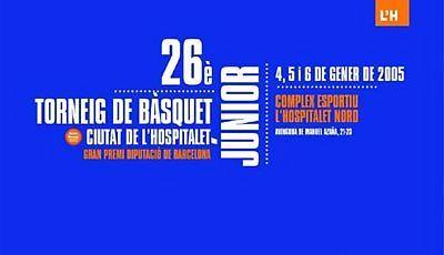 Portada oficial del 26º torneo de L'Hospitalet