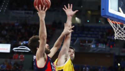 San Emeterio fue el mejor del choque (ACB Photo / J. Izarra)