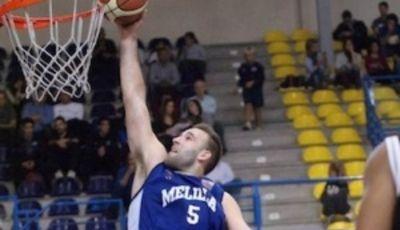 """Bandeja de Kiril """"MVP"""" Wachsmann (Foto: Melilla Baloncesto)"""