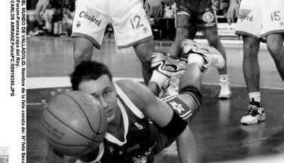 Sergio Luyk luchando por el 'Último Balón' (Foto: El Mundo de Valladolid)