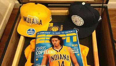 Chris Copeland, olvidado en los Pacers (Foto:IanBegley/Twitter.com).