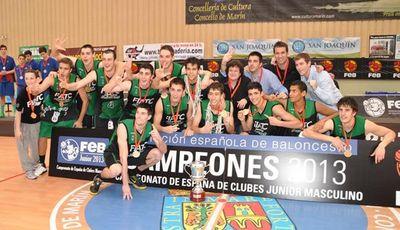 Joventut, Campeón de España junior 2013 (foto FEB)