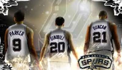 Parker, Ginobili y Duncan (Foto: sweetball.com).