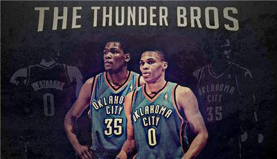 El futuro de los Thunder pasa por este par (Foto: sportsgeekery.com).