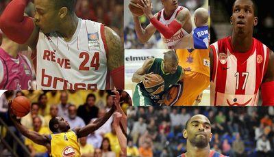 Jugadores USA en Europa antes de asentarse en la NBA.